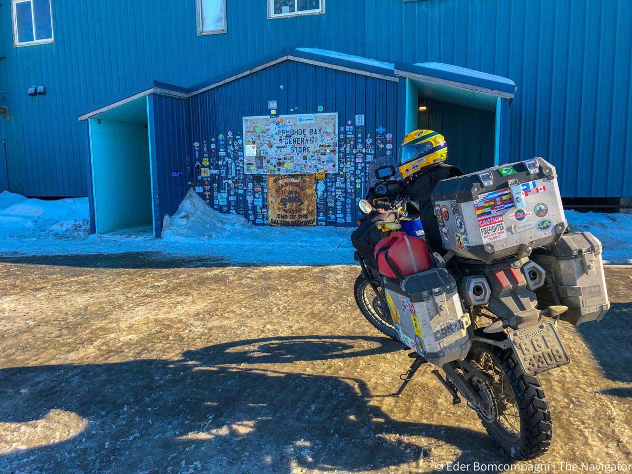 Viaje a Alaska en moto
